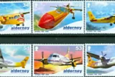 ALDERNEY - 40th ANNIVERSARY OF AURIGNY AIR SERVICES   2008