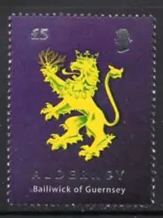 ALDERNEY £5      2008