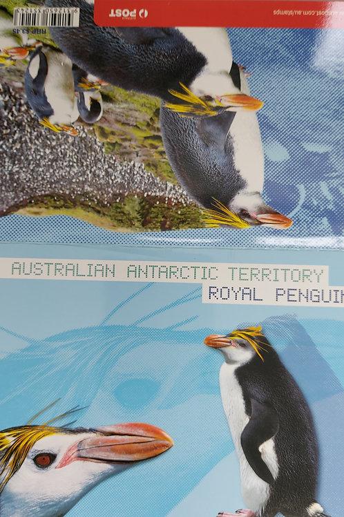 AUSTRALIAN ANTARCTIC TERRITORY - ROYAL PENGUINS 2007