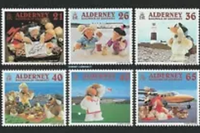 ALDERNEY - A WOMBLING HOLIDAY  2000