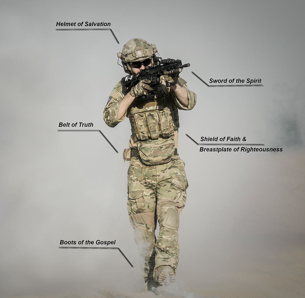 Armor of God, soldier, christian, warrior, marine, omega dynamics, jamie walden