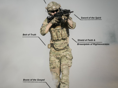 The whole Armor (Kit) of God!