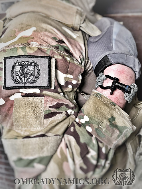 OD Tactical Patch w/ Velcro Backing