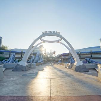 New Tomorrowland Sign Arrives at Magic Kingdom!