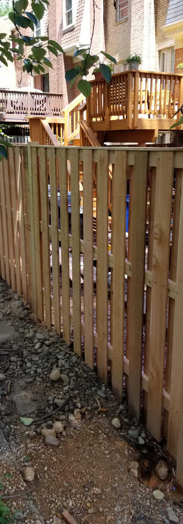 Yard Fence Installation