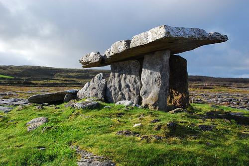 AN ANCIENT IRISH STONE DOLMEN