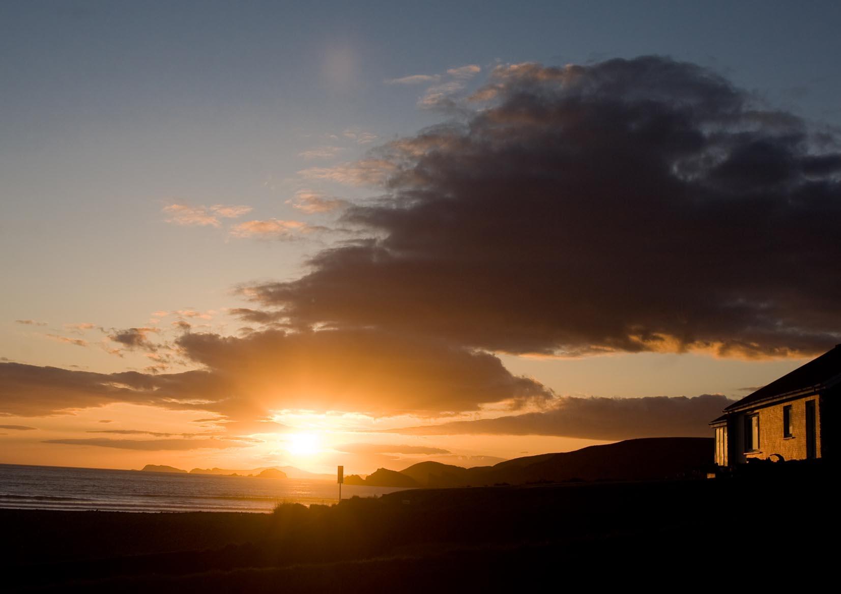 Sunset close to Balliogue