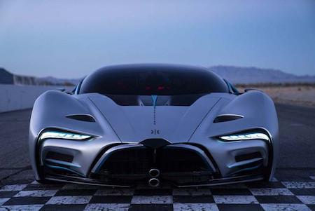 Первый автомобиль на водородном двигателе