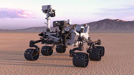 NASA создало двойника марсохода Perseverance