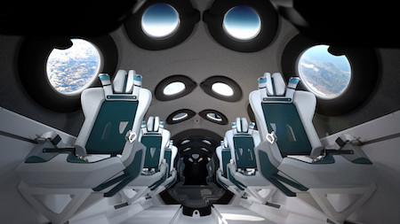 Как будет выглядеть космический корабль для туристов