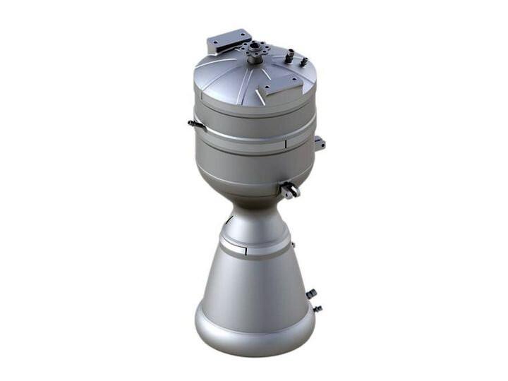 Напечатанный на 3D принтере двигатель ракеты Skyrora SK-1