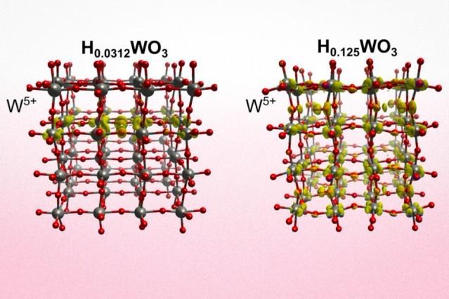 Устройство основано на кристаллической решетке трикосида вольфрама
