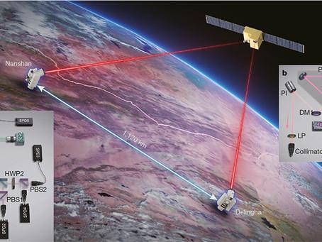 Квантовая связь на расстоянии в 1200 километров