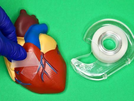 Адгезивный пластырь для внутренних органов