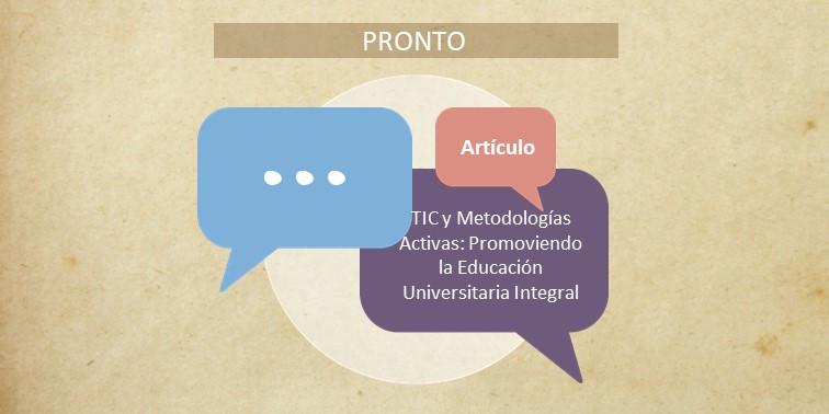Pronto - Artículo TIC y Metodologías Act