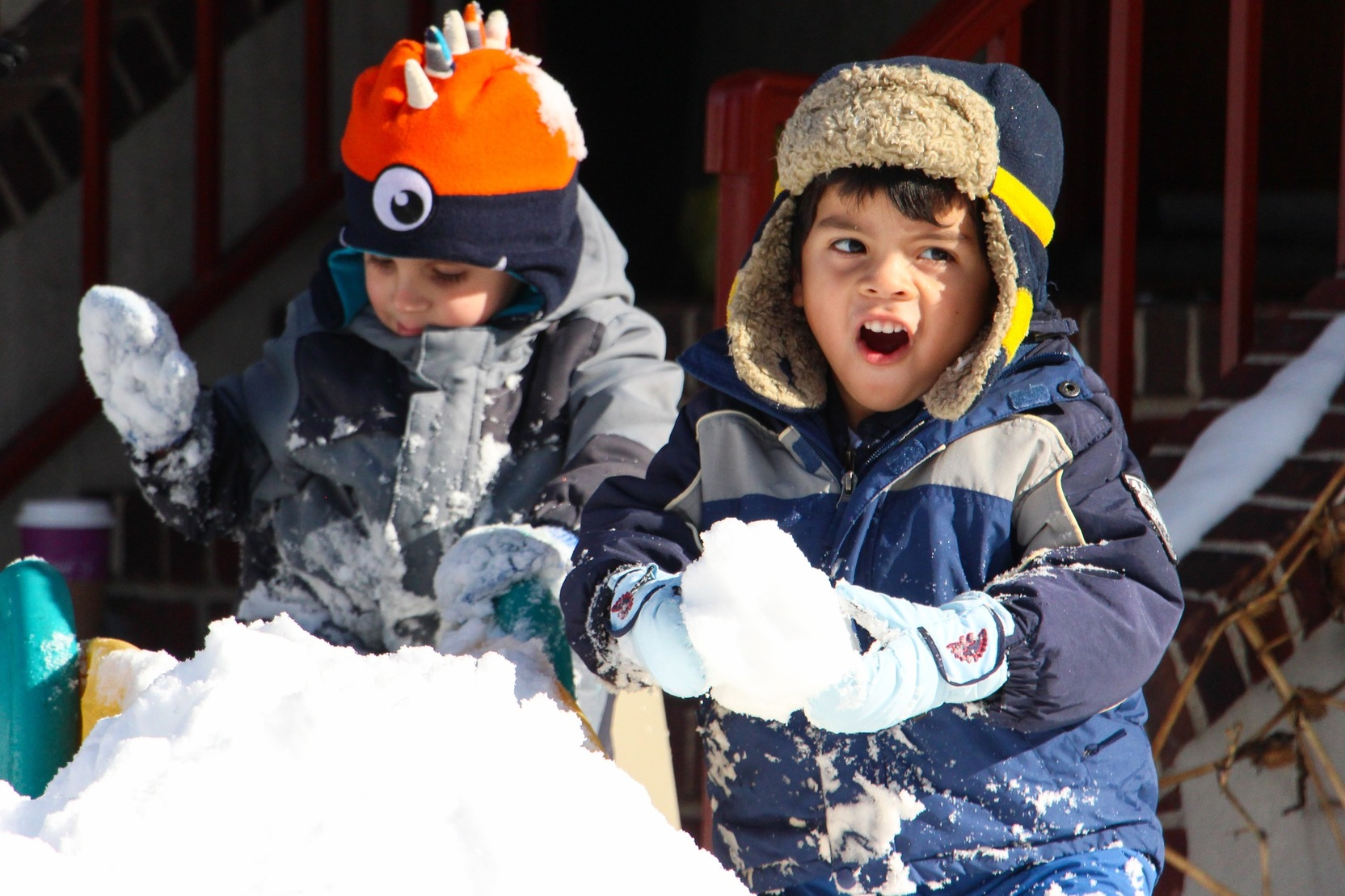 Stamford Preschool Snow Day