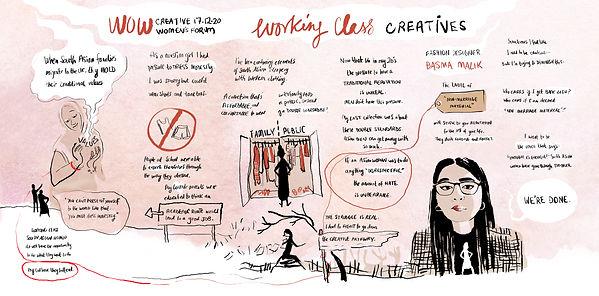 WOW Creative Women's Forum Working Class Creatives