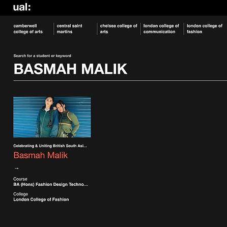 UAL London College of Fashion