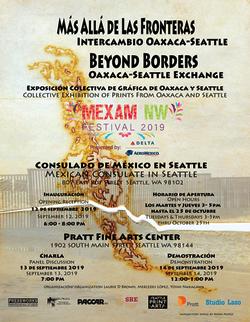 Oaxaca-Seattle Art Exhibit Poster