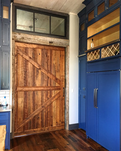 Reclaimed Hemlock Sliding Door