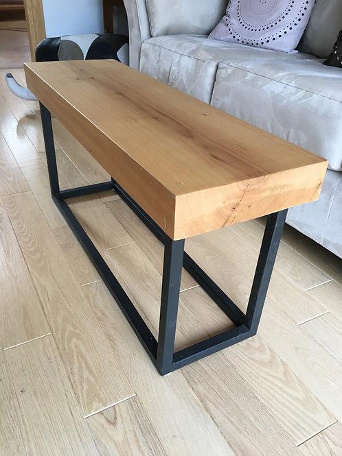 Reclaimed elm bench