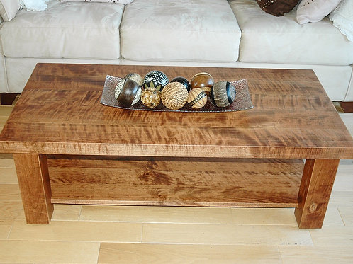 Rescued cherry coffee and end tables