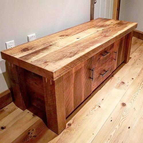 Reclaimed hemlock bench