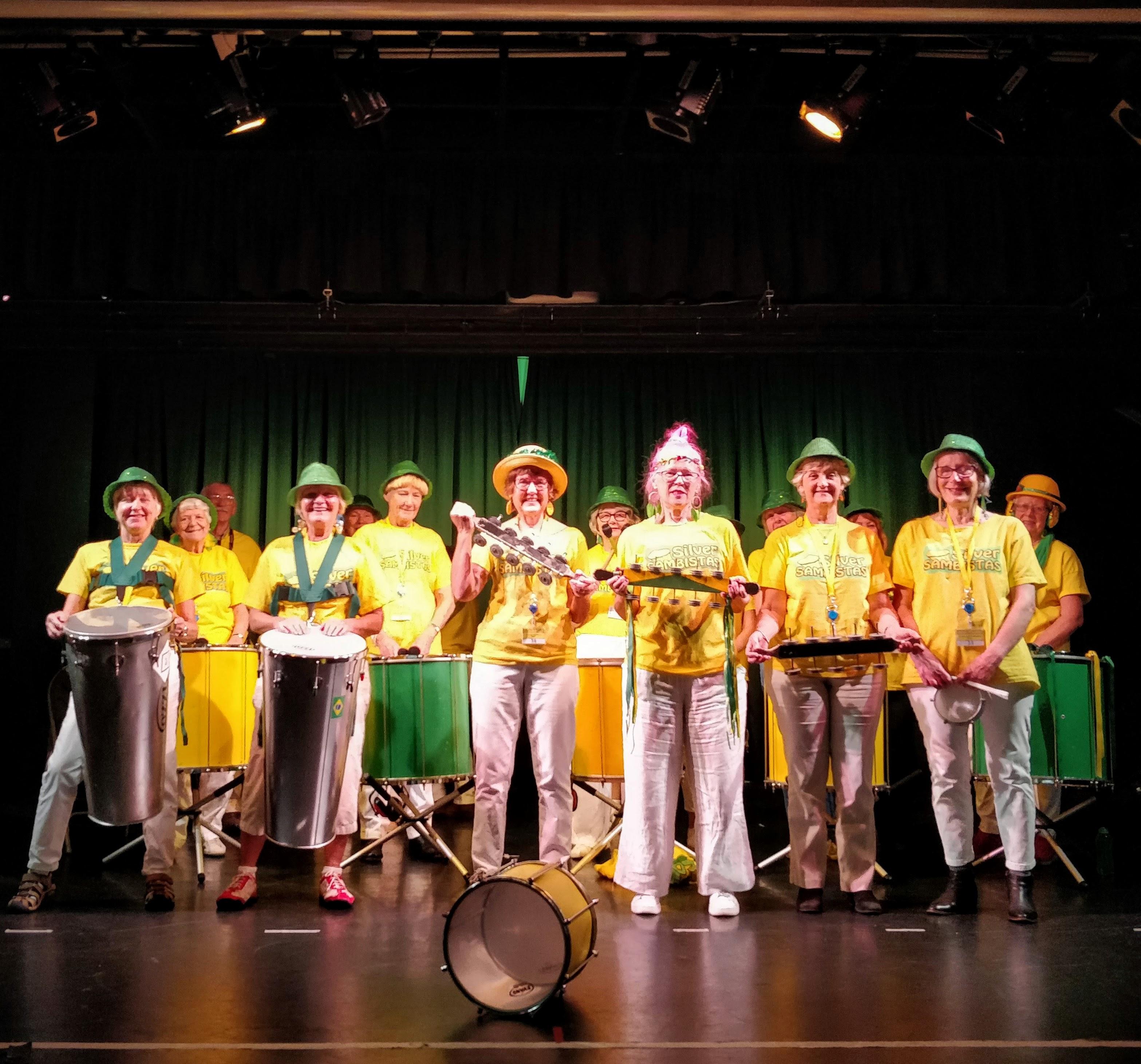 Silver Sambistas at National Star