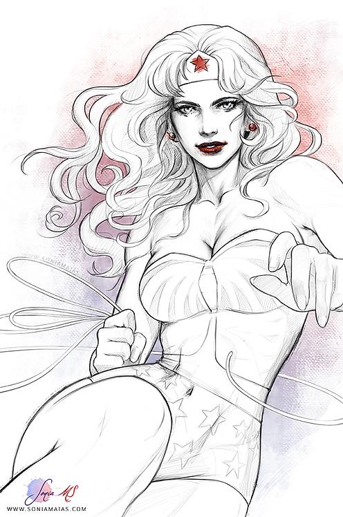 Wonder Woman  A3