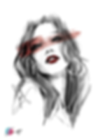 digital portrait, sketch, sketching, girl, artwork, sensuality, beauty, beautiful, artist