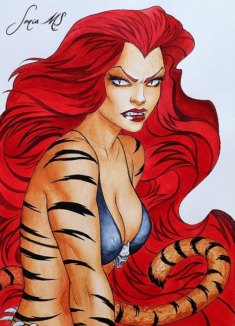 Tigra [Print A4]