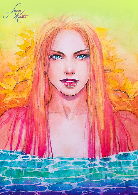 Summer · Verano Limited edition [A3 size]
