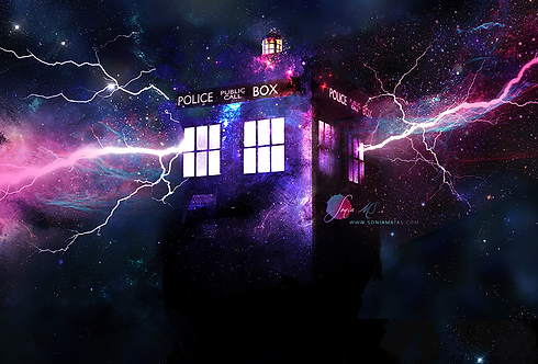 The Tardis [Mini-Print]