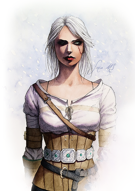 Ciri watercolor [Print A4]