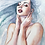 Thumbnail: Watercolor portrait 2020 #16 [Mini-Print]
