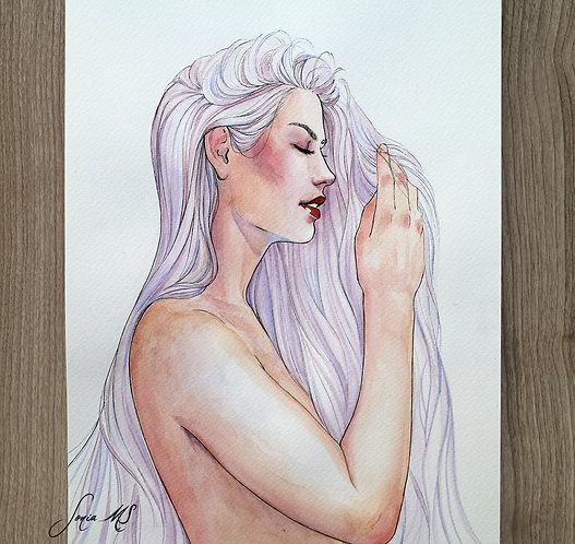 Watercolor portrait 2020 #20
