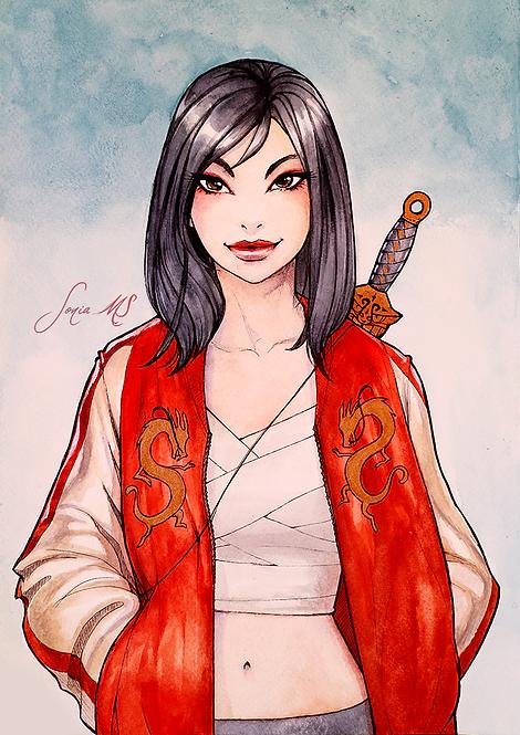 Mulan [Print A4]