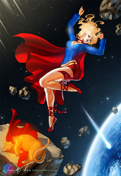 Supergirl & Streacky