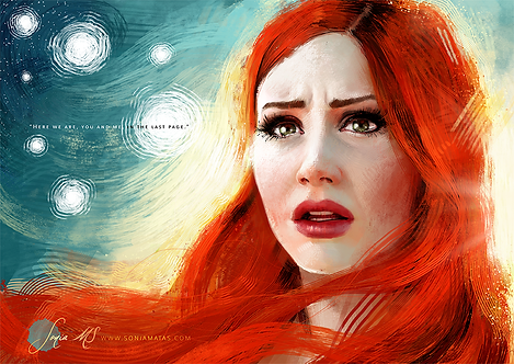 Amy Pond [Mini-Print]