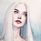 Thumbnail: Watercolor portrait 2020 #17 [Mini-Print]
