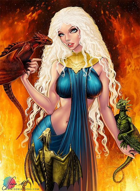 Daenerys Targaryen [Mini-Print]