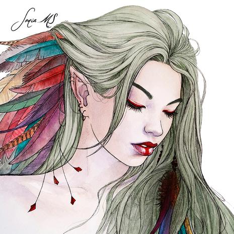 Watercolor Portrait #18