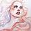 Thumbnail: Watercolor portrait 2020 #07 [Print A4]