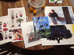 """Ilustración para el libro """"12 árboles"""", homenaje a Ricardo Codorníu, Sonia Matas, Sonia MS,"""
