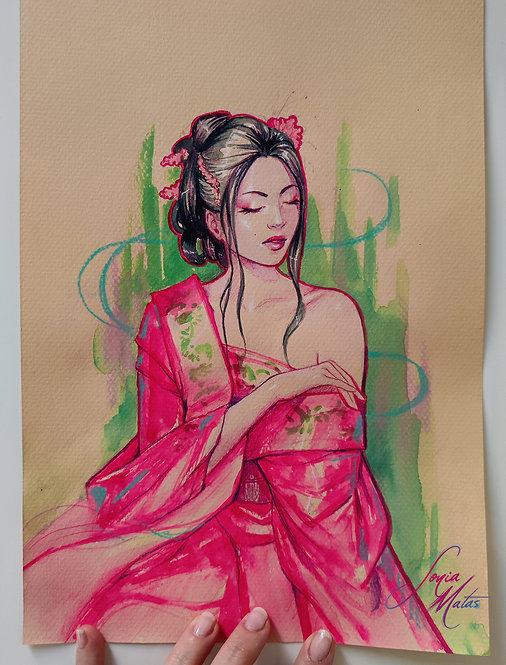 Bright Opera Geisha