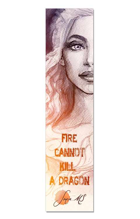 Khaleesi bookmark