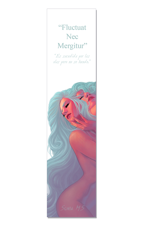 Fluctuat Nec Mergitur bookmark