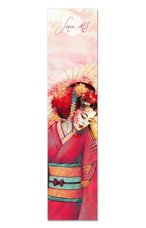 Geisha bookmark