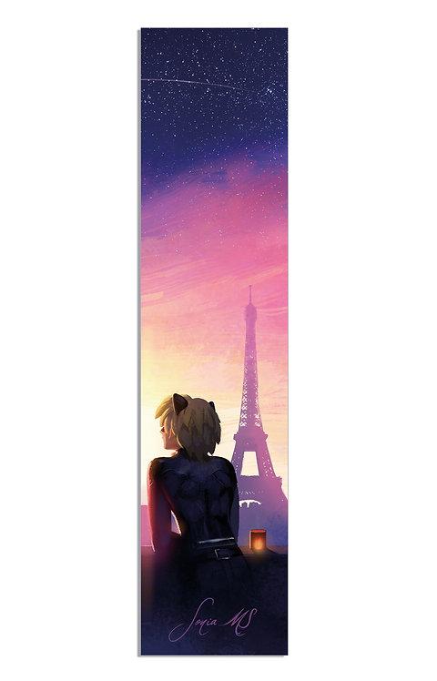 Chat Noir bookmark