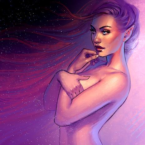 Inner universe (purple)